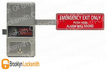 detex lock with alarm